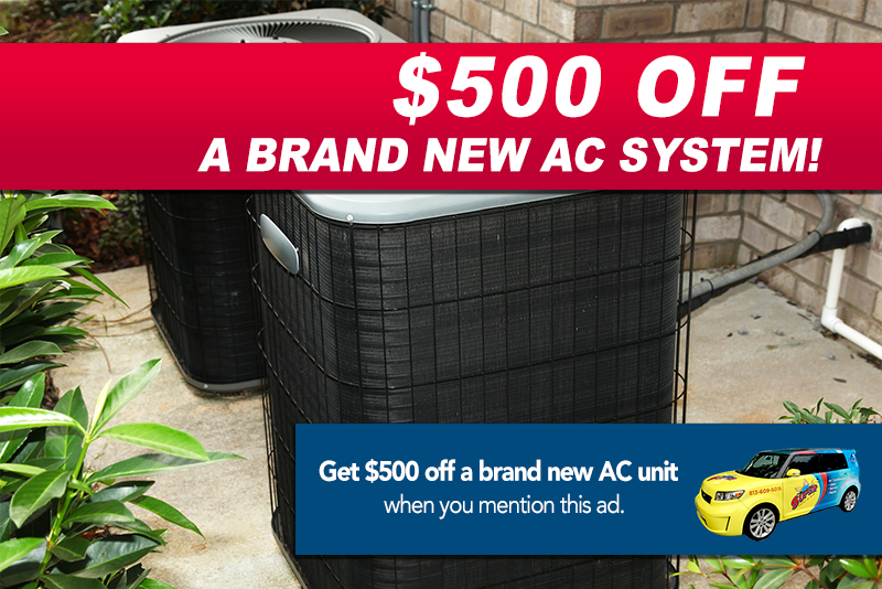 new air conditioner discount Tampa