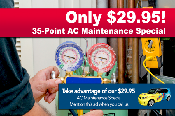 air conditioner maintenance special