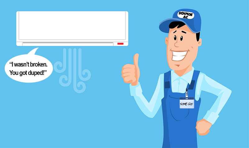 HVAC Scams: Ripoff Red Flags & Transparency