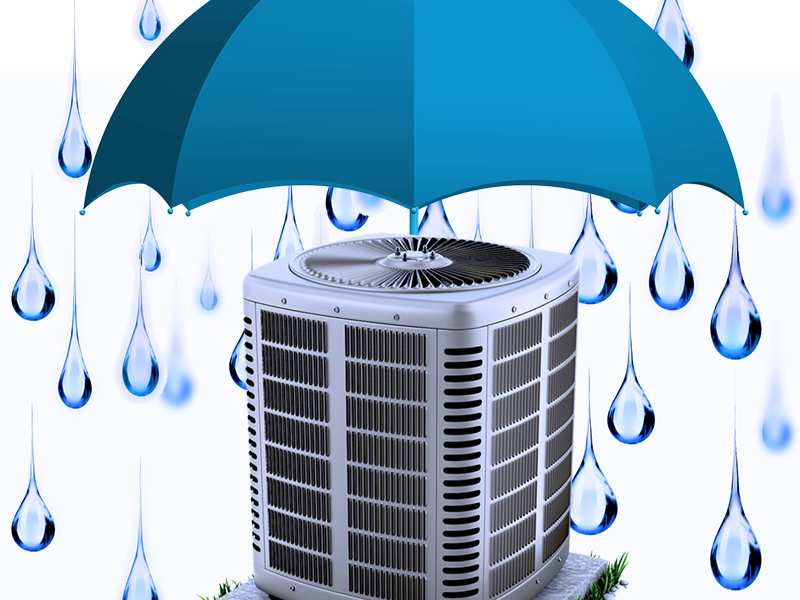Air Conditioner Rain Protection Super Heat Amp Air