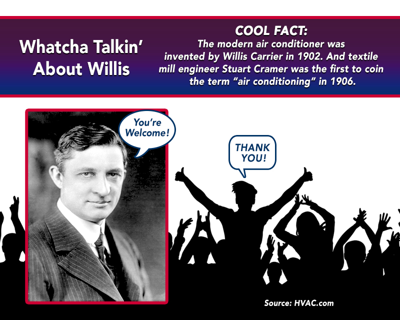willis carrier air conditioning