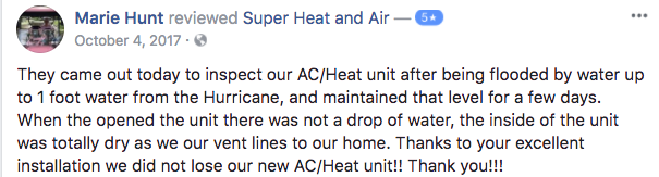 tampa air conditioning company review