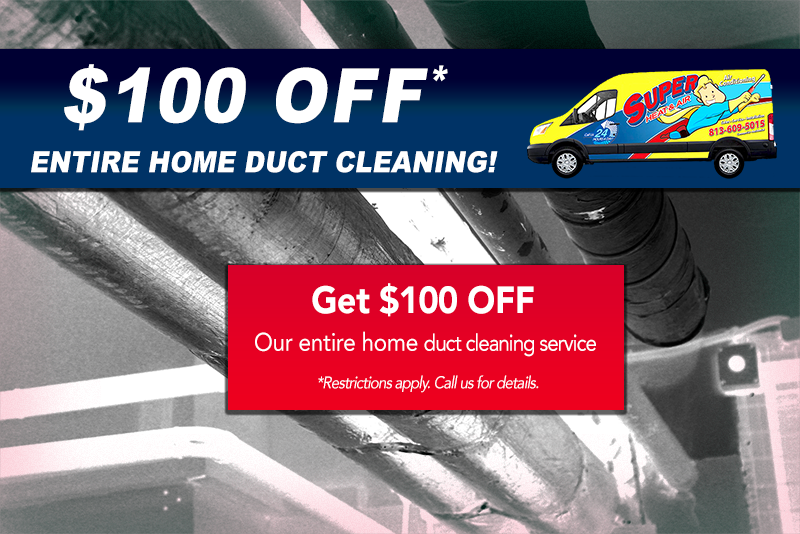 duct cleaning special Tampa