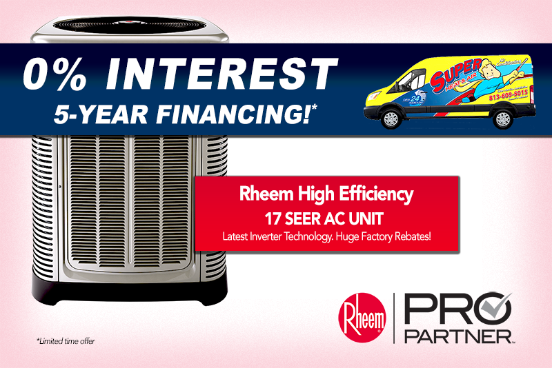 rheem air conditioner special