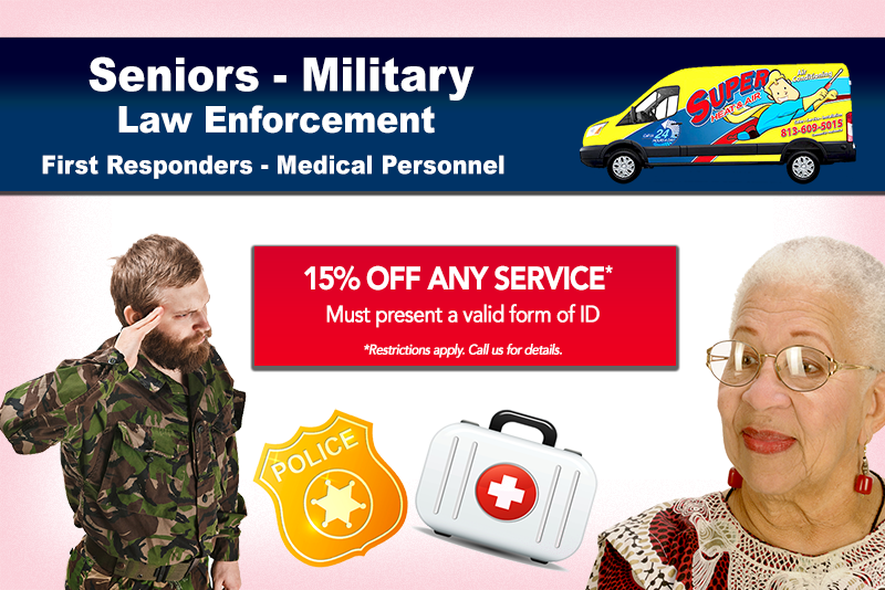 air conditioner medical staff military discount
