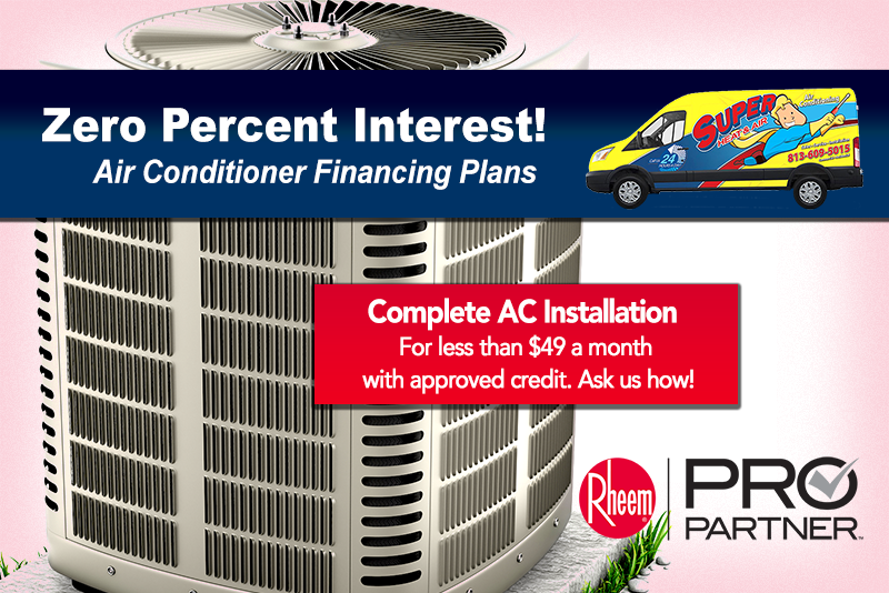 air conditioner financing special
