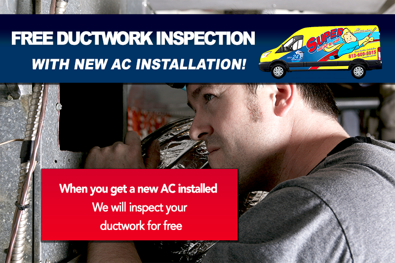 free ductwork inspection