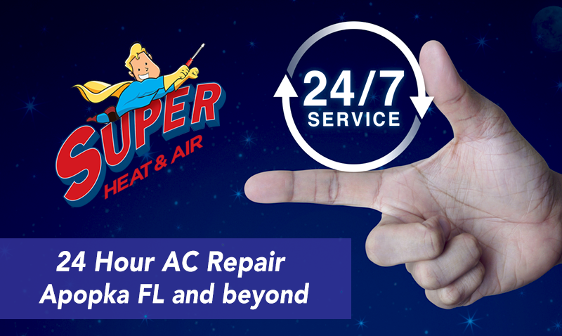 24 hour AC repair Apopka