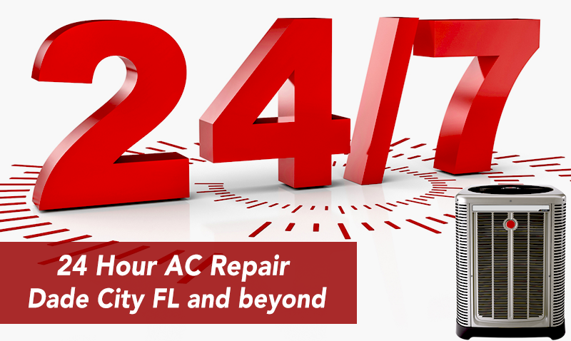 24 hour AC repair dade city florida