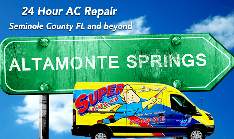24 hour AC repair Seminole County