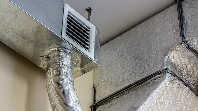 ac duct installation
